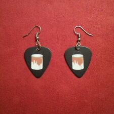 Paint Can Guitar Pick Earrings Pop Art Fashion Accessory Player Gift Present