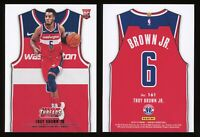 2018-19 Panini Threads Troy Brown Jr RC Gem Mint 10 SP Statement Jersey #161