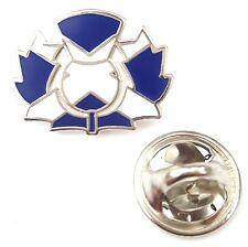 Scotland Thistle Saltire Enamel Lapel Pin Badge T1086