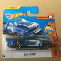 "DIE CAST "" SOLID MUSCLE "" HOT WHEELS SCALE 1/64"