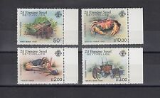 TIMBRE STAMP  4 ZIL EL. SEYCHELLES Y&T#101-04 POISSON CRABE NEUF**/MNH-MINT ~A42