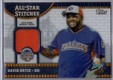 David Ortiz 2013 Topps Update All Star Stitches Relic #ASR-DO  Orange swatch SP