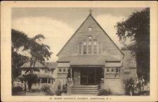 Jamestown Ri St. Mark's Catholic Church Postcard
