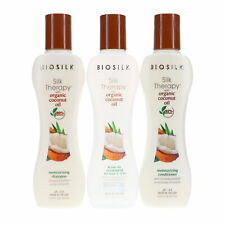 Biosilk Silk Therapy With Organic Coconut Oil Moisture Kit