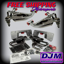 DJM Suspension Silverado Sierra 4/6 Lowering Drop Control Arms Flip Kit