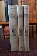 Bibliografia Geral Dos Acores Tomo I, II, III Joao Afonso 3 Portuguese hardbacks