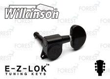 "Wilkinson ® WJN-03 machine heads kidney ""rotomatic"" style guitar,EZ lock, black"