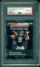 "2001 Bowman Football Foil ""Hobby"" Sealed Pack ** PSA 10 ** Drew Brees Rookie ?"