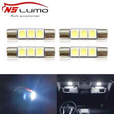 4x3smd LED festoon lights bulbs 28mm 29mm Sun Visor Vanity Mirrors Fuse Lamp Car