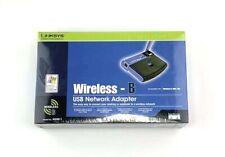 Linksys Cisco Wireless B USB Network Adapter WUSB11 New Sealed Box 2.4 GHz