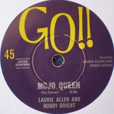 "BOBBY AND LAURIE-MOJO QUEEN/JUDY GREEN ""RARE OZ"" 45 RPM"