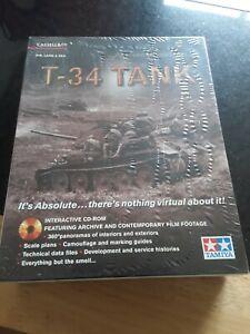 BN SEALED T-34 TANK INTERACTIVE CD-ROM