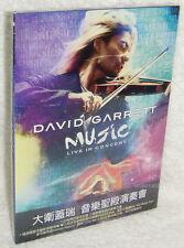 David Garrett Music Live in Concert Taiwan DVD w/OBI (Digipak)