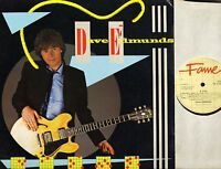 DAVE EDMUNDS d.e. 7th FA 41 3090 1 uk emi fame reissue LP EX/VG+