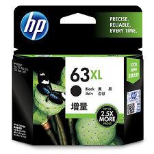 2017 In BOX Genuine HP 63XL Black F6U64AN Ink Deskjet 3632 3630 2130 1112