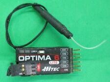 Hitec Optima 6LE AFHSS Rx With Batt. Telemetry excellent condition