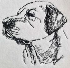 Completed Embroidery Labrador Dog 2