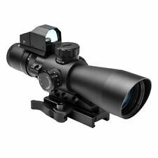 VISM NcStar Sighting System Rifle Scope with Red Dot STP3942G-DV2