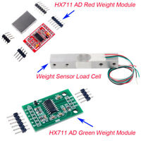 1/4/10pcs 1/2/3/5/10/20kg Load Cell Weight Sensor HX711 AD Weighing Module