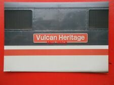 PHOTO  CLASS 86 ELECTRIC NAMEPLATE - 86 228 VULCAN HERITAGE