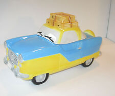 NASH METROPOLITAN COOKIE JAR TOURING COUPE Fitz & Floyd OCI Am.Roadside 1994 MIB