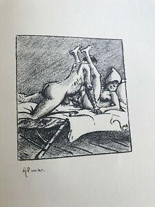Hurengespräche von Heinrich Zille - Original 498 von 1000 Exemplaren - Faksimile