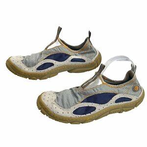 Timberland Mens Wake Slip On Water Mesh Sand Khaki Shoes Size12 Trekking Fishing