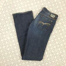 Mavi Womens Zoe Boot Cut Stretch Blue Jeans, Medium Wash, size 32 x 38