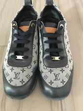 Authentic Louis Vuitton Womens Sneakers, shows, size 39.5