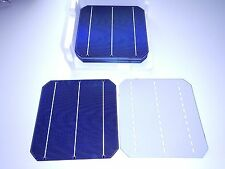 100 6x6 VERY HIGH EFFICIENCY  MONO  SOLAR CELLS over 8 amps each