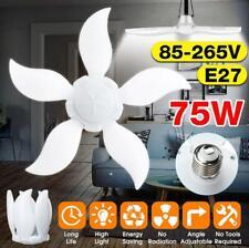 15000lm 75W E27 Bright LED Garage Light Deformable Ceiling Fixture Workshop Lamp