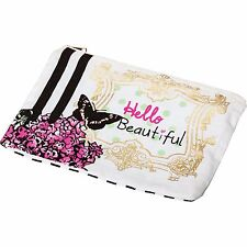 Girls / Ladies Butterfly Make Up Bag Gift