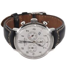 Zeppelin 7086 LZ129 Hindenburg Men's Gents Quartz Watch / Black Leather Strap