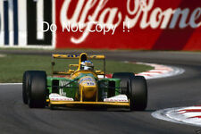 Michael Schumacher BENETTON B192 ITALIANO Grand Prix 1992 fotografia 1