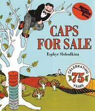 Caps for Sale Board Book: A Tale of a Peddler, Some Monkeys and Their Monkey Bu