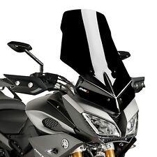 Verkleidungsscheibe Touring Puig Yamaha MT-09 Tracer 15-17 schwarz Windschild