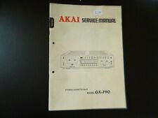 Original Service Manual Schaltplan Akai GX-F90