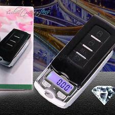 Car Key Portable Digital Pocket Scale 0.01g-100/200g Mini Jewelry Weighing Sweet