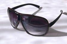 GIL Design Sonnenbrille Pilotenbrille Schwarz Rot  UV400 L1 NEU