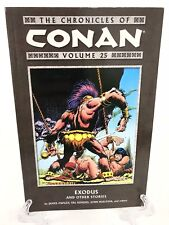 Chronicles of Conan Volume 25 Exodus & Other Stories Dark Horse Comics Tpb New