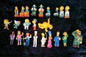 The Simpsons Figurine & Chess 23 Lot Homer Bart Barney