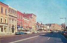 A View of Main Street, Looking East, Waterloo Ny