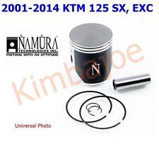 """2001-2014 KTM 125 SX, EXC 54 mm Bore """"B"""" Namura Dual Ring Piston # NX-70029-B"""