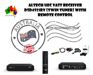 """LATEST"" Altech UEC DSD4921RV Digital Satellite Vast Rec.+ extra accessory pack"