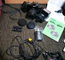 Cannon Eos Rebel X Film Camera with case plus accessories Manual cables 1993