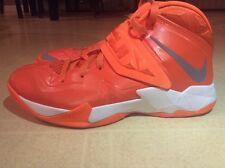 Nike Zoom Lebron Soldier VII Orange size 8.5