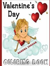 Valentine's Day Coloring Book, Jordan, Sandra, New Books