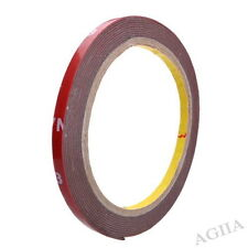3M x 6 mm Auto Acrylic Foam Double Sided Attachment Tape - UK seller