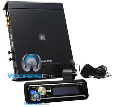 pkg ALPINE PXA-H800 IMPRINT AUDIO PROCESSOR + ALPINE RUX-C800 IN-DASH CONTROLLER