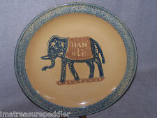Pfaltzgraff AMERICA Charger Round Platter Elephant - Hanible USA made